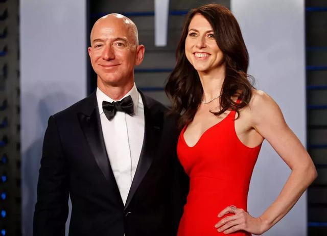 亚马逊创始人贝佐斯与妻子的天价离婚